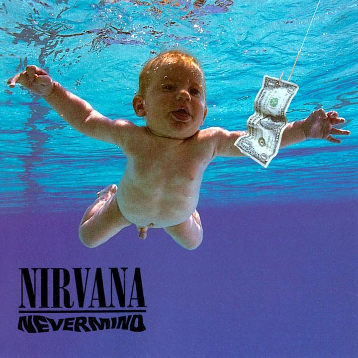 Image result for Nirvana - Nevermind (1991)