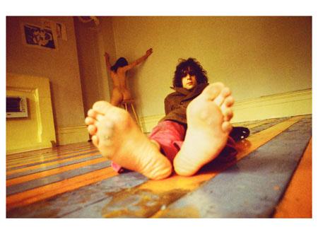 Syd Barrett Feet(c)MickRock1969